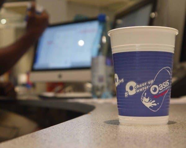 oasis water cooler cups