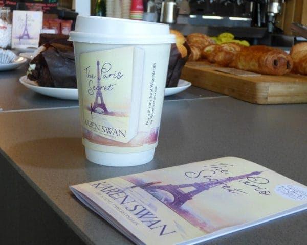 Pan Macmillan Karen Swan Coffee Cup Advertising