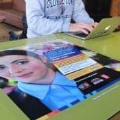 Aldi Promotes Graduate Scheme with University Tablewraps