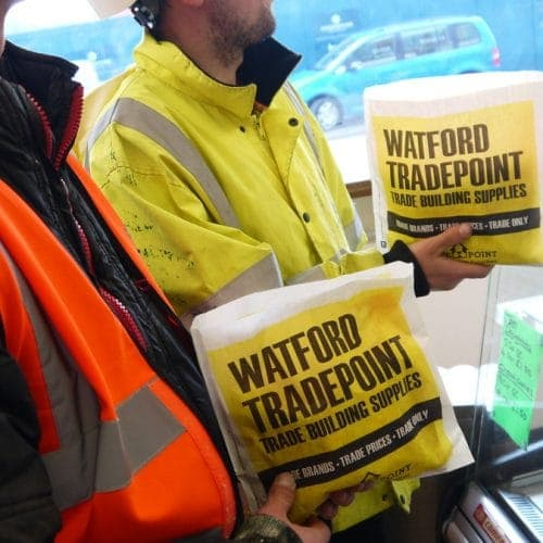 Tradepoint Butty Bag Advertising