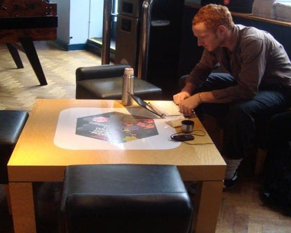 nike tablewrap table advertising media university network (1)
