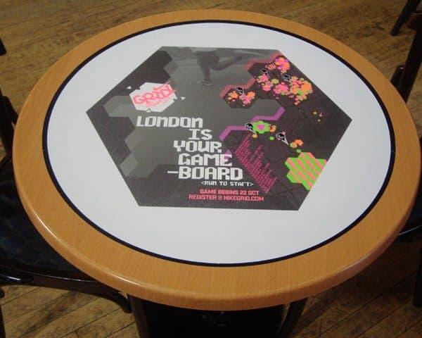 nike tablewrap table advertising media university network (2)