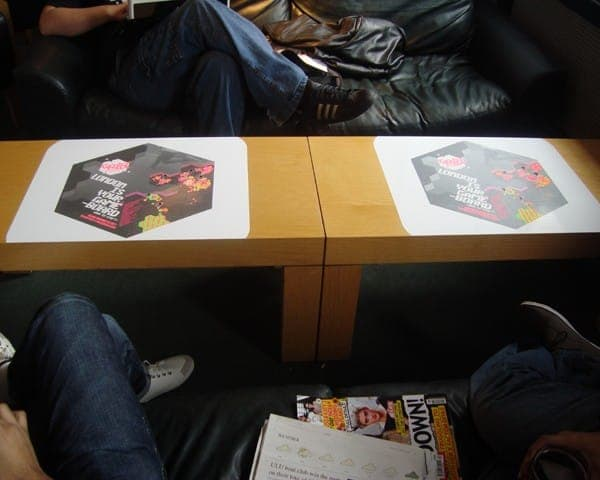 nike tablewrap table advertising media university network (4)