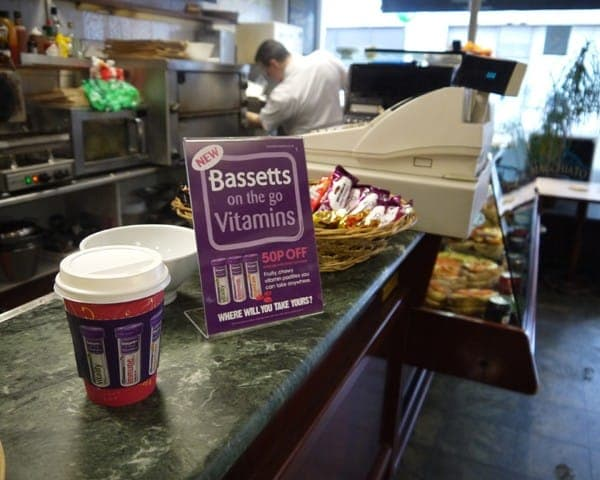 bassetts coffee sleeve advertising media (2)