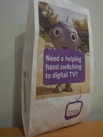 digital uk pharmacy bag advertising media bag media