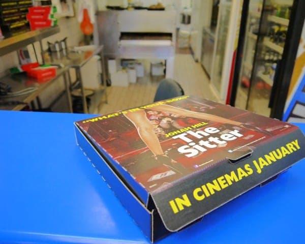 20th twentieth century fox the sitter pizza box takeaway formats advertising media takeaways