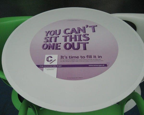 census 2011 tablewrap table advertising media university network