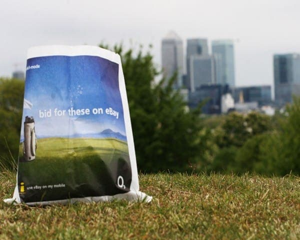 o2 sandwich bags butty bags advertising media bag media