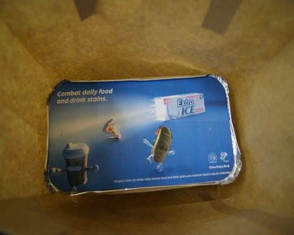 wrigleys curry lids takeaway formats advertising media takeaways