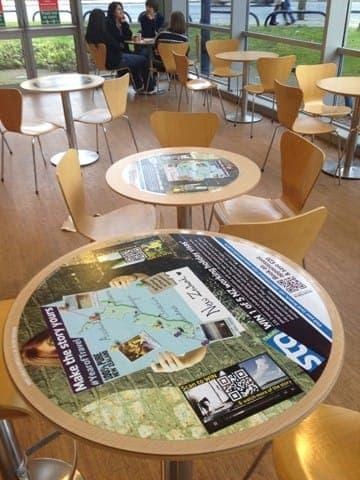new sta travel tablewrap table advertising media university network (1)