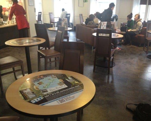 new sta travel tablewrap table advertising media university network (2)