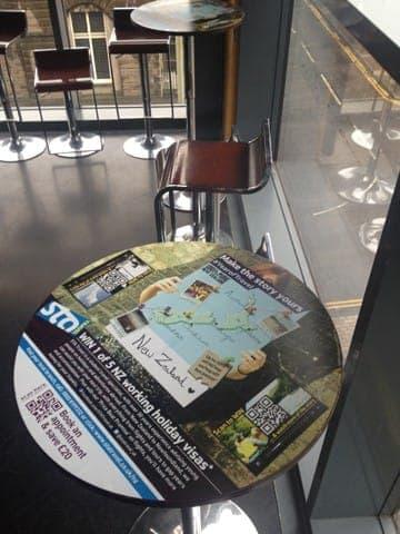 new sta travel tablewrap table advertising media university network (3)