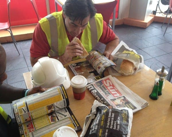 tradepoint sandwich bag advertising bag media catalogue sampling sandwich bars coffee culture network