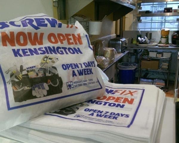 Screwfix-sandwich-bag-advertising