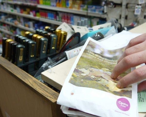 Centra Pulse Pharmacy Bag Advertising