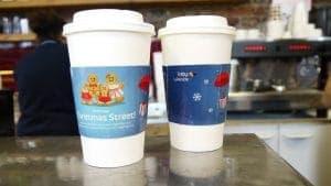 Intu Lakeside Coffee Sleeve Adverts