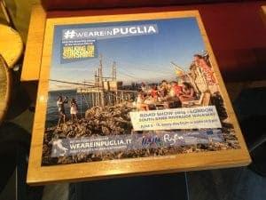 Puglia Tourism Tablewrap Advertising