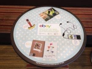 eBay NFC Tablewrap Advertising Campaign