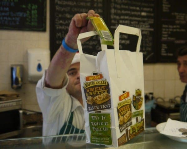 Nature Valley Deli Bag Advertising & Sampling