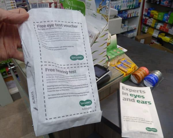 specsavers-pharmacy-bag-advertising