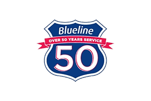 Blueline Taxis Logo