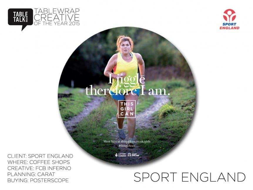 Sport England TCOTY 2015