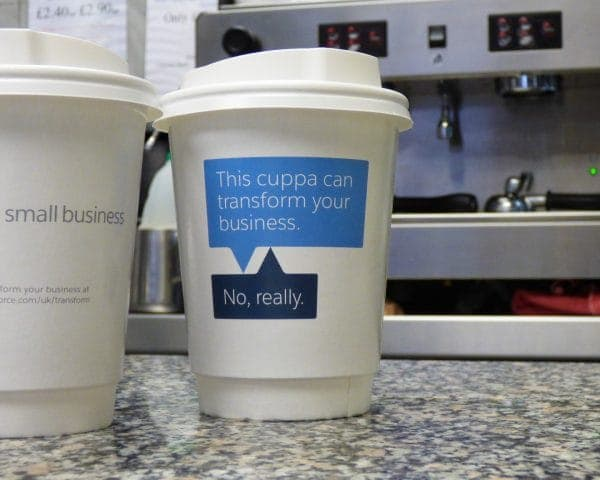 Salesforce Coffee Cups