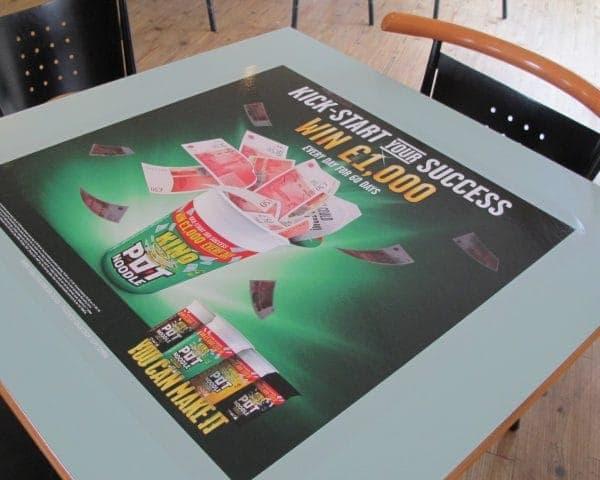 Pot Noodle Student Union Tablewraps