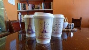 Pan Macmillan Karen Swan Coffee Cup Advertising