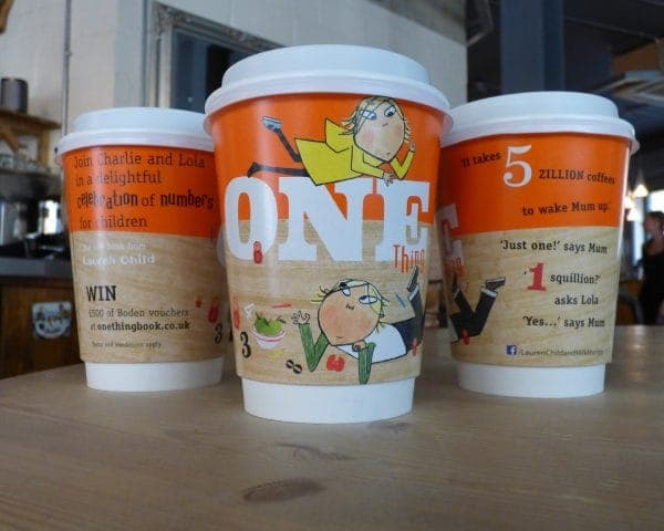 Charlie and Lola Coffee Cup Adverts