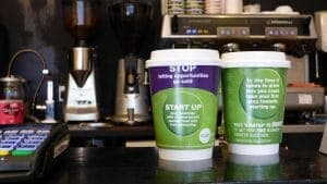 Start Up Loans Coffee Cup Adverts