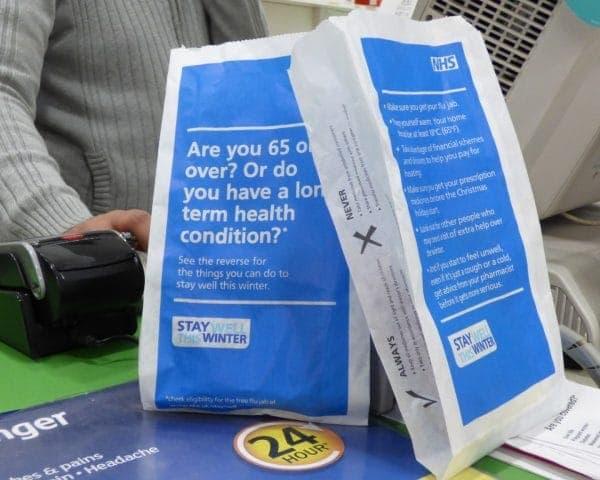 PHE Pharmacy Bag Advertising
