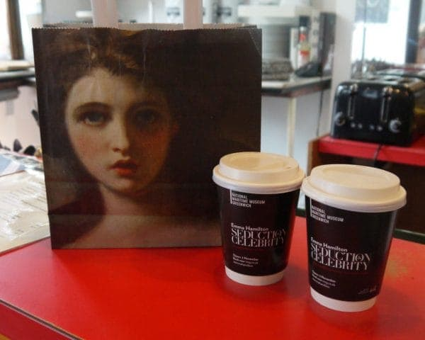 National Maritime Museum Coffee Cups & Deli Bags Adverts