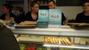 TePe Easypick Sampling & Sandwich Bag Adverts