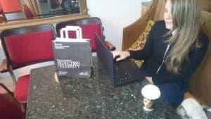 LSBF Takeaway Coffee Cup & Deli Bag Adverts