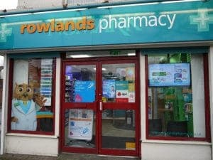 Macmillan Pharmacy Bag Adverts