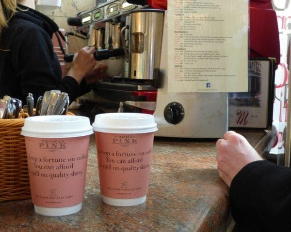 thomas-pink-coffee-cup-advertising