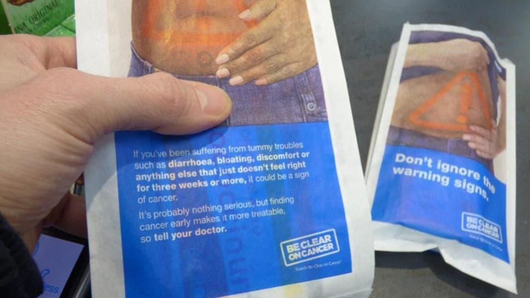 Public Health England NHS Abdominal Cancer Pharmacy Bags (4