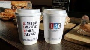 LBC GEMS Takeaway Coffee Cup Adverts
