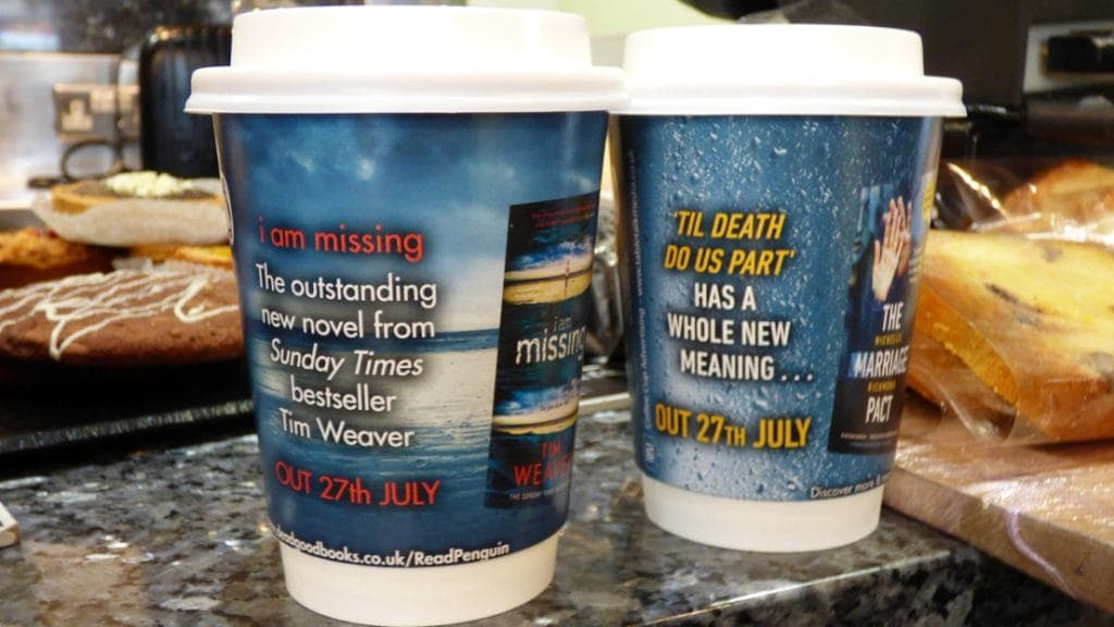 Penguin Random House Coffee Cups