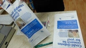 Novo Nordisk Pharmacy Bag Advertising