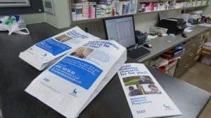 Novo Nordisk Pharmacy Bag Advertising