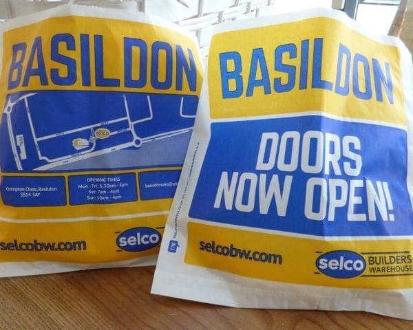 Selco Sandwich Bag Advertising