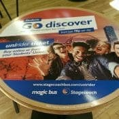 Stagecoach with University Tablewrap Campaign