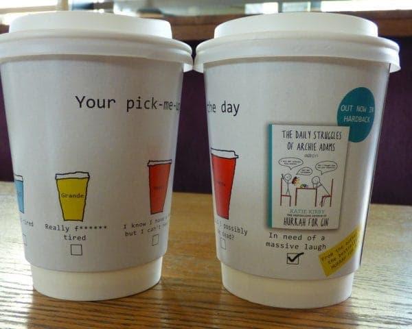 Hodder Cheltenham Literary Festival Coffee Cups