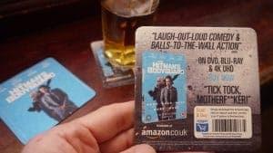 Lionsgate Beer Mat Advertising