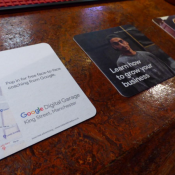 Google with Digital Garage Campaign in Pubs