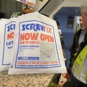 Screwfix Target Tradesmen in Cafes