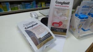 Cosy Feet Pharmacy Bag Advertising Tabletalk Media