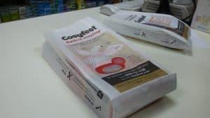 Cosy Feet Pharmacy Bag Advertising Tabletalk Media